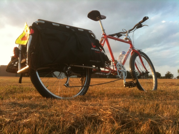 xtracycle in field