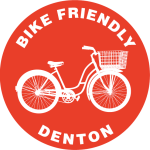 Bike Denton logo of a cruiser