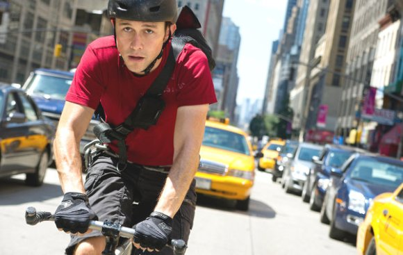 Joseph Gordon-Levitt in Premium Rush (NYT, Columbia Pictures)